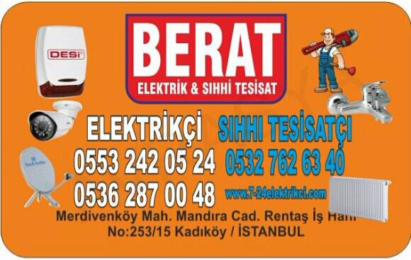 BERAT ELEKTRİK (ALARM-KAMERA-UYDU)