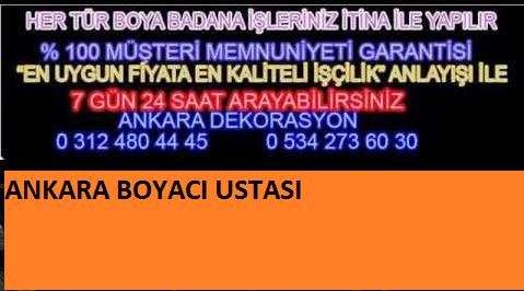 Ankara Boya Badana